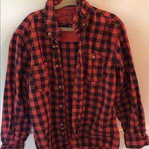Boys red shirt